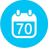 L'assurance vie à adhésion garantie est offerte jusqu'à 70 ans.