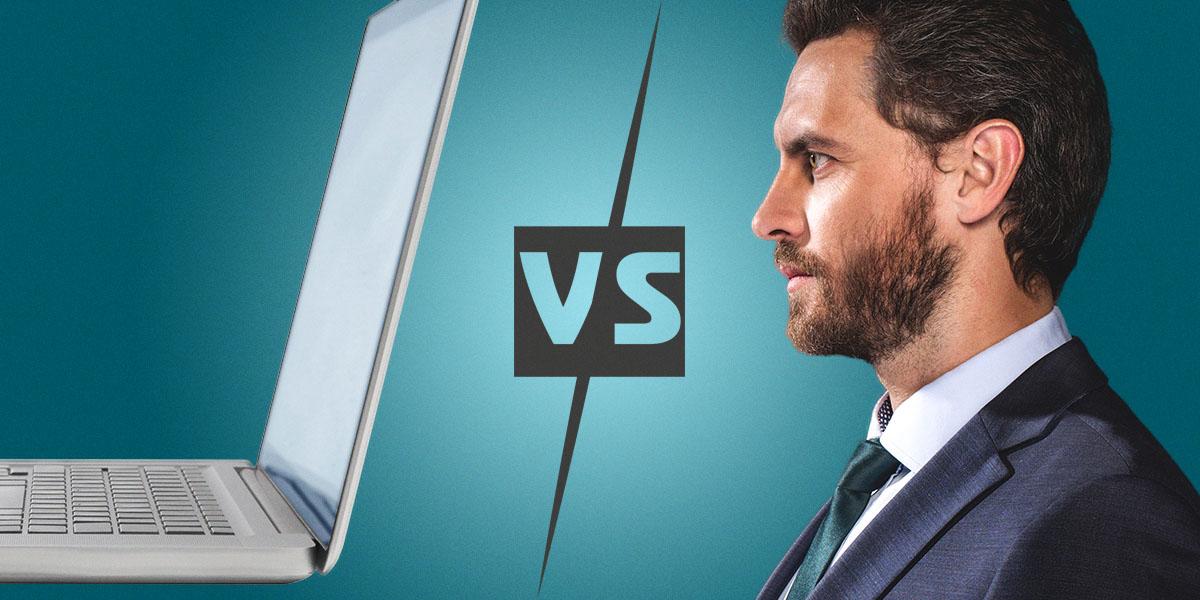 Un professionnel ou bien quelqu'un vendant de l'assurance en ligne, vous devrez choisir ce que vous préférez.